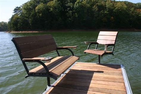 boat dock chairs 7 best dock seating images on pinterest