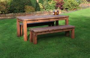 Wooden Bench And Table Set Outdoor Furniture Wooden Outdoor Furniture Outdoor Table