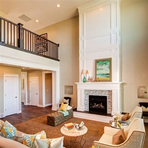 two story fireplace how to add wood trim above fireplace mantle fireplace