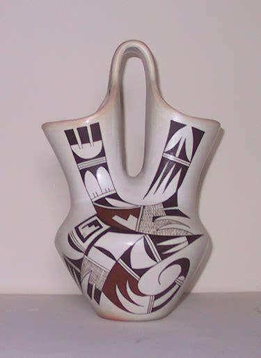 Wedding Vase by Navasie Frog Hopi Wedding Vase