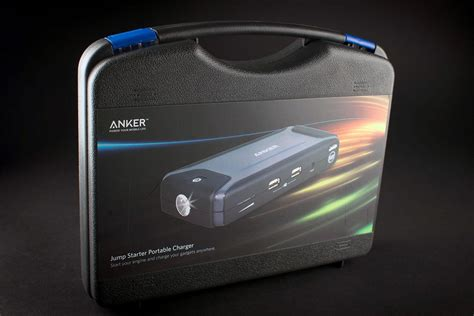 anker jump starter anker compact car jump starter and portable charger review