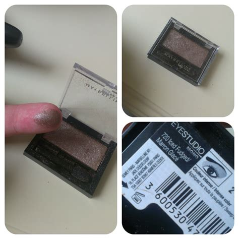Maybelline Eyeshadow maybelline eye studio mono in iced fudged satin taupe dupe some sparkle and shine