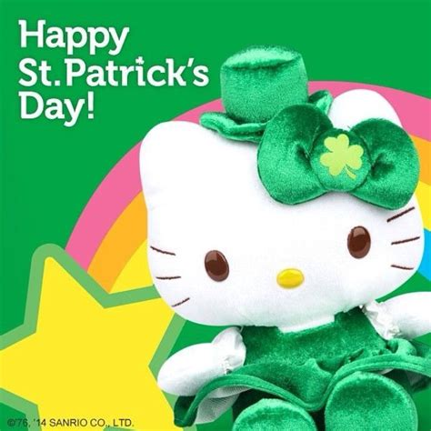 hello kitty wallpaper st patricks day hello kitty st patricks day www imgkid com the image