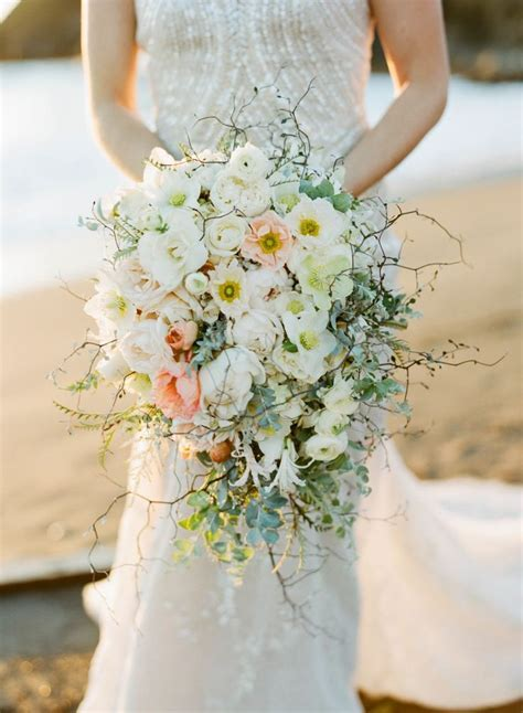 Picture Of Elegant Beach Wedding Inspiration With Glam Touches