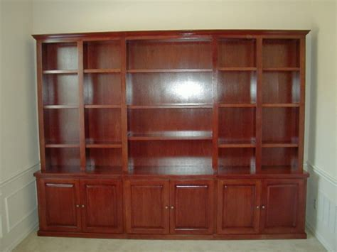 Cherry Wood Bookcase Doherty House Cherry Wood Cherry Wood Bookcase With Doors