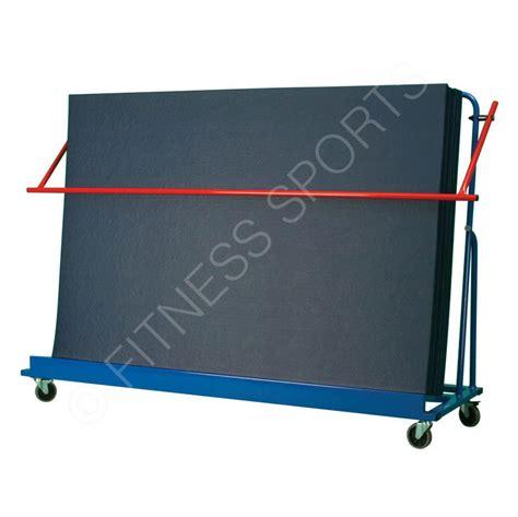 Mat Storage by Incline Safety Mat Storage Trolley Gymnasium Matting