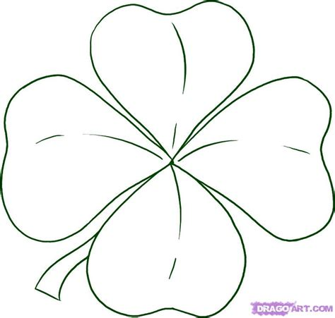 picture of a 4 leaf clover cliparts co