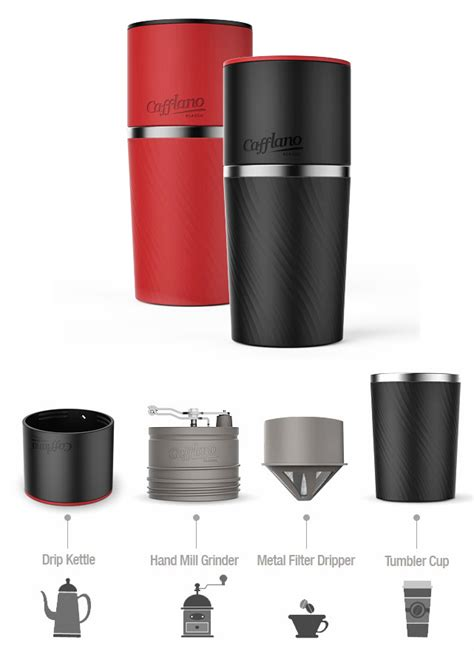 Cafflano Coffee Maker brew fresh coffee anywhere with the cafflano klassic the gadgeteer
