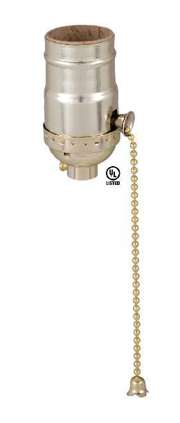 pull chain l socket pull chain socket brass plated 48320 b p l supply