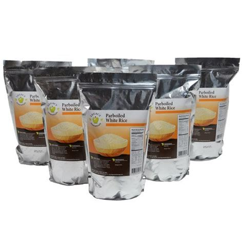 Shelf Rice by Legacy Essentials Term Parboiled Instant Rice 20