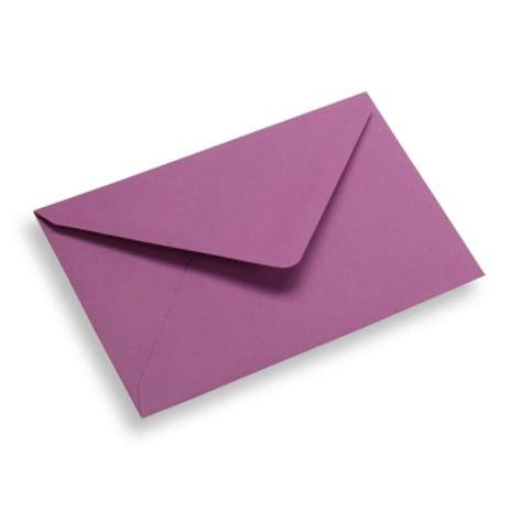 Paper Envelopes - envelope paper 120 x 185 purple easily order packaging