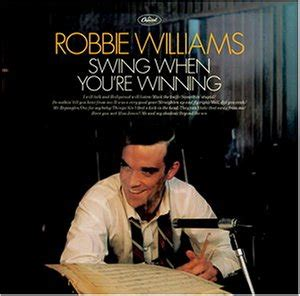 robbie williams swing when you re winning swing when you re winning cassette co uk