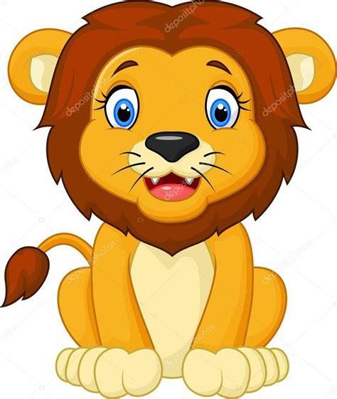 imagenes leones en caricatura dibujos animados le 243 n sentado archivo im 225 genes