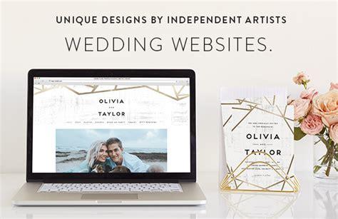 Wedding Accessories Website by Free Wedding Websites Minted