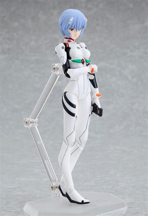 Max Factory Evangelion 2 0 Rei Ayanami Figma Figure Plugsuit amiami character hobby shop figma rei ayanami plugsuit ver evangelion 2 0 you can