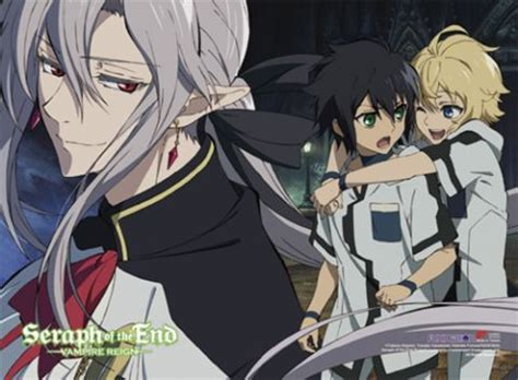 Seraph Of The End 02new Releasefree Sul seraph of the end 6 fabric poster merch raru