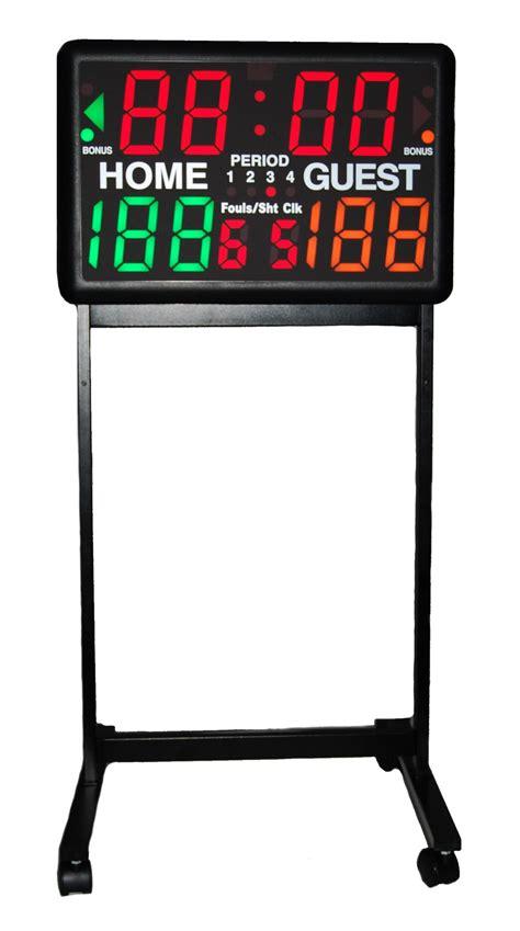 Elektronik Portable portable electronic led scoreboard w