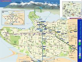 vancouver bc canada map