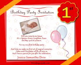 birthday invitation cards wordings 1st birthday invitation wording wordings and messages