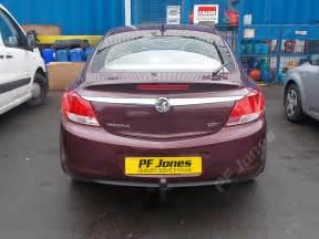 Vauxhall Towbar Vauxhall Insignia Hatchback 2009 Onwards Pf Jones