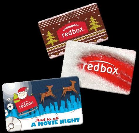 Redbox Movie Gift Card - stockings redbox gift card and gift cards on pinterest