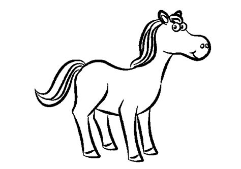 coloring pages of cartoon horses free coloring pages of horses to print