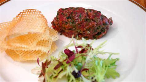Steak tartare with pommes gaufrettes recipe : SBS Food