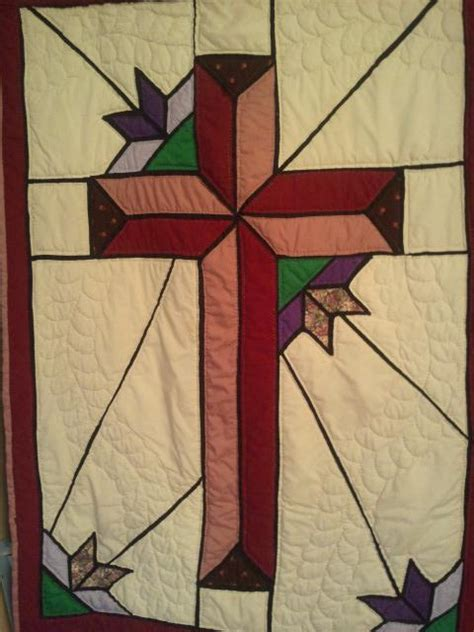 quilt pattern cross stained glass cross quilt pattern not all the things i