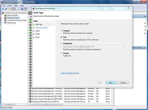 is port open manually open ports in windows firewall