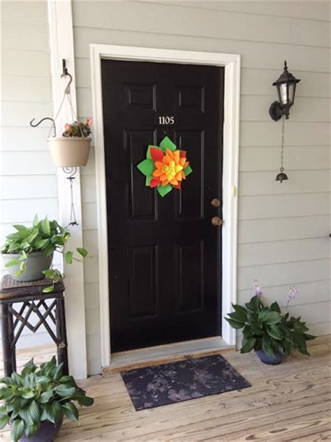 sunflower entrance decor decoration ideas decor