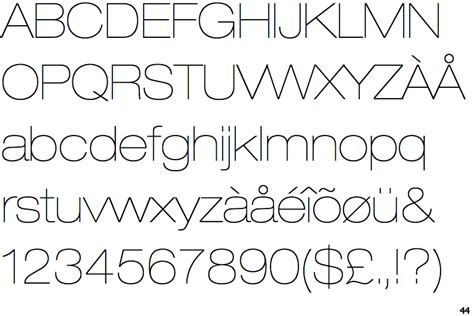 light font differences intro thin alt helvetica neue ultra light
