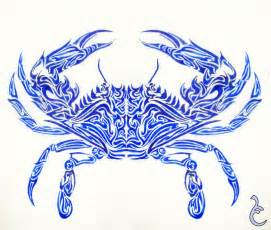 blue crab tattoo design by griffon2745 on deviantart