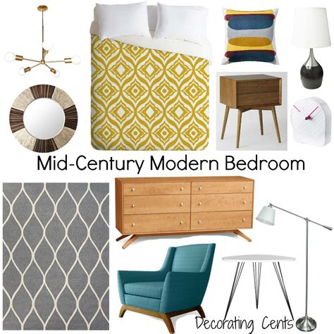 mid century modern ls decorating cents inspiration boards