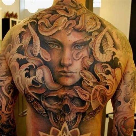 full body tattoo designs for men medusa back tattoos tattoos