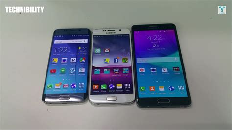 s6 edge themes for note 4 samsung galaxy s6 vs s6 edge vs note 4 flagship battle