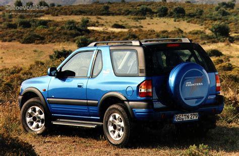 opel frontera 2002 opel frontera sport specs 1998 1999 2000 2001 2002