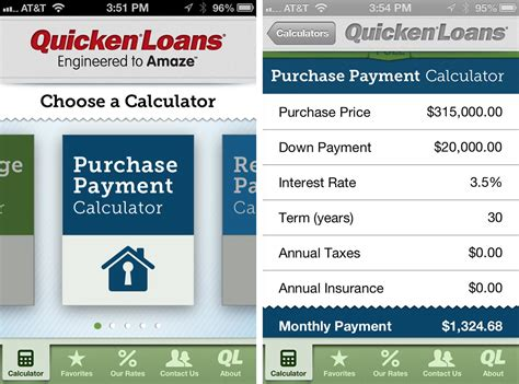 deposit for house loan mortgage calculator by quicken loans for iphone review imore