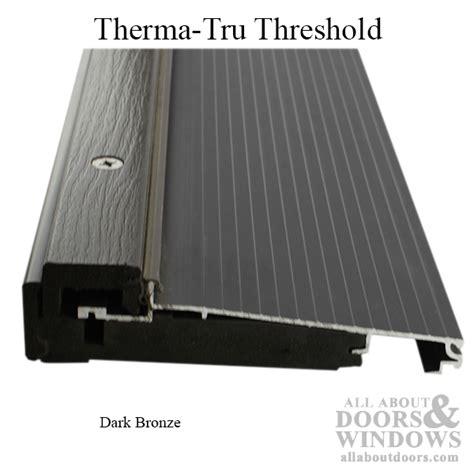 Exterior Door Threshold Parts Door Thresholds Sills