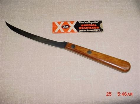 case xx kitchen knives nice unused case xx p210 knife w sleeve kitchen tomato