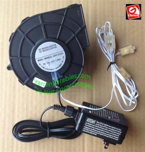 power supply fan replacement gemmy replacement 1 5a fan with 12v 1 5a adapter