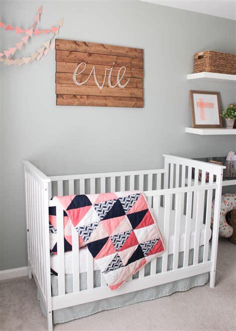 Simple Nursery Decor Evie S Rustic Glam Nursery Project Nursery