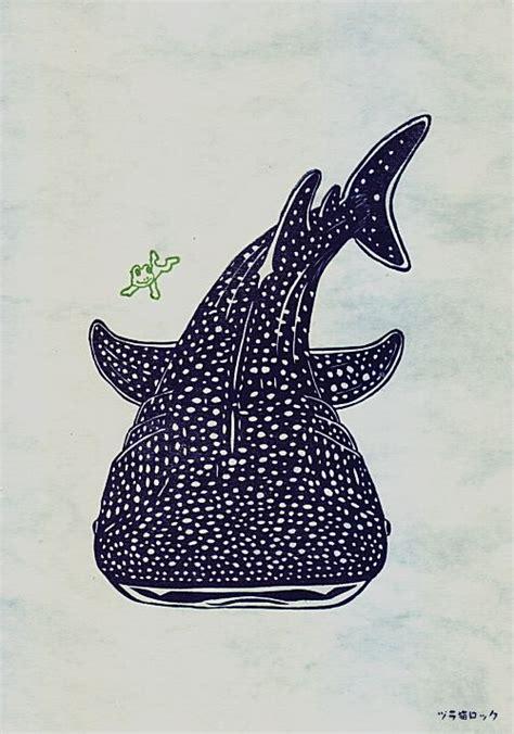 whale shark tattoo whale shark ジンベエザメはんこ st whale sharks