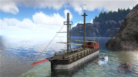 how to make a boat base in ark ark survival evolved another dinosaur based survival