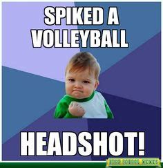Funny Volleyball Memes - funny volleyball pictures on pinterest volleyball memes