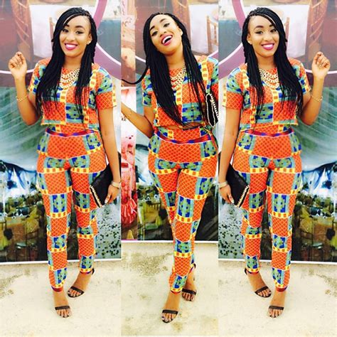 latest ankara high waist trouser styles  ladies
