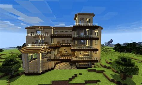 houses for minecraft pe huge house map for minecraft pe 0 13 0