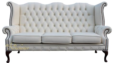 high back sofas uk high back wing sofa parchment chesterfield 2 seater high