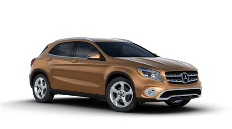 mercedes colors color options of the 2018 mercedes gla