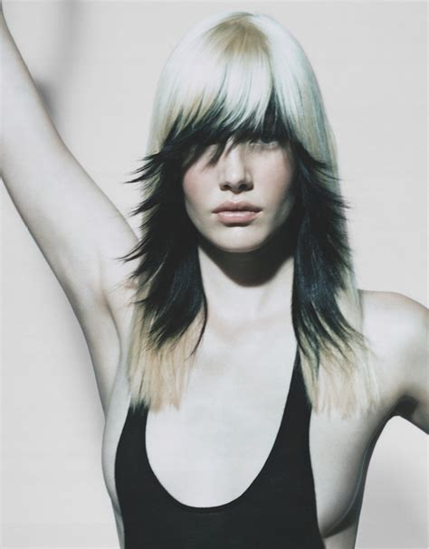 aveda hairstyles gallery a long blonde hairstyle from the antoinette beenders