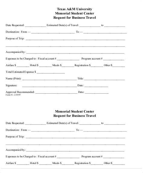 travel requisition form template 42 requisition form exles sle templates